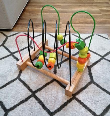 Ikea Mula 2020 zabawka drewniana przekładanka edukacyjna