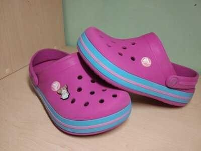 Crocs кроксы j2 оригинал для девочки