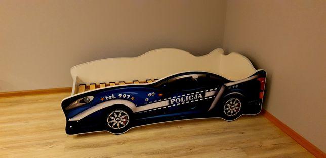 Łóżko auto samochód policja jak nowe