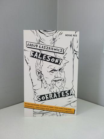 Kalesony Sokratesa - Jakub Łaszkiewicz, książka NOWA