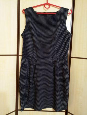 Платье женское в горох летнее повседневное нарядное короткое сукня