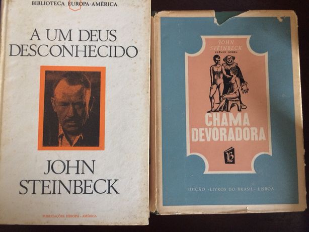 Ernest Hemingway John Steinbeck Pearl Buck Graham Greene