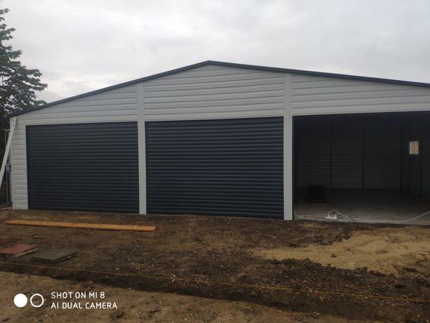 Garaż blaszany 11x6 hale wiaty garaże blaszaki