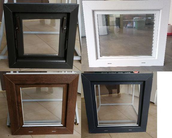 Okna inwentarskie NA WYMIAR! Okno 100x100 białe/do chlewni,obór,piwnic