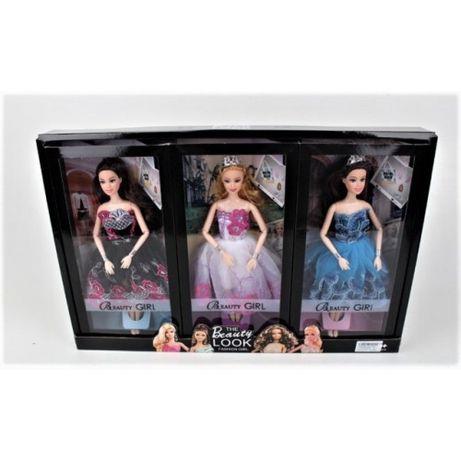 Кукла Шарнирная Барби, набор 3 Куклы Хит Продаж