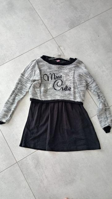 Sukienka dwuczęściowa Takko Fashion