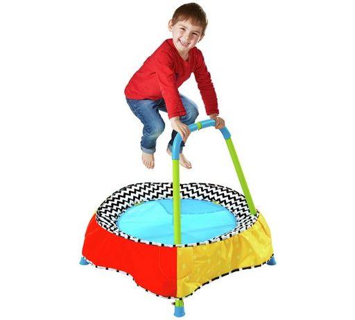 Trampolina domowa z rączką pokojowa dla dziecka