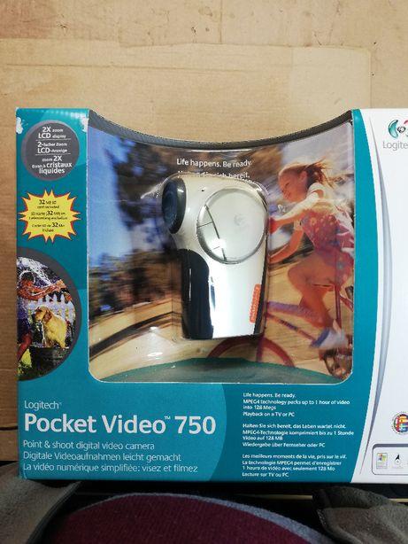 Câmara de vídeo portátil de cartão SD