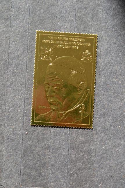 Znaczki. Uganda. Papież Jan Paweł II **