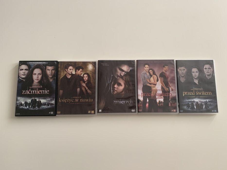 Saga Zmierzch DVD  Pieć płyt. Żyrardów - image 1