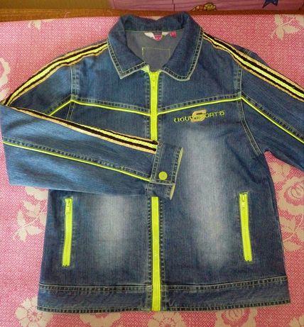 Джинсовая куртка (пиджак, жакет)