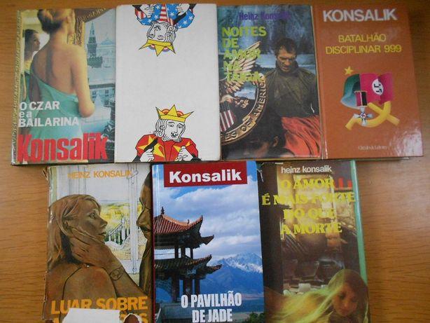 Coleção Livros Konsalik