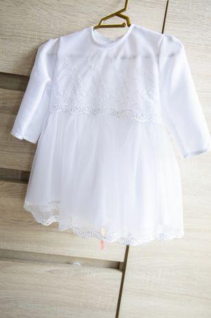 Sukieneczka do chrztu roz 74