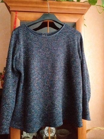 Sweter błyszczący wielobarwnie. 48/50. Darmowa wysyłka