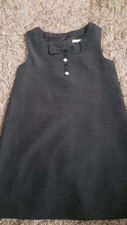J.nowa sukienka wizytowa H&M r.122 z kokardką na uroczystości