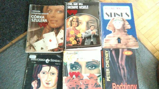 Sprzedam książki różnych autorów