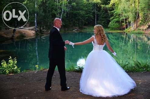 suknia ślubna r38 r biustu b/c do negocjacji