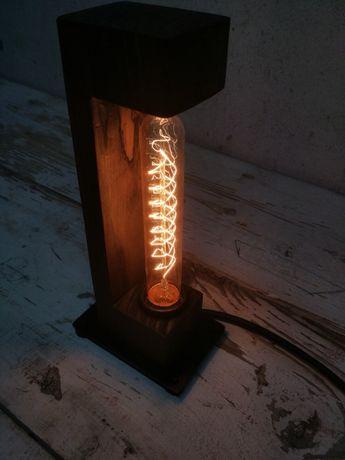 Настольная лампа лофт ретро