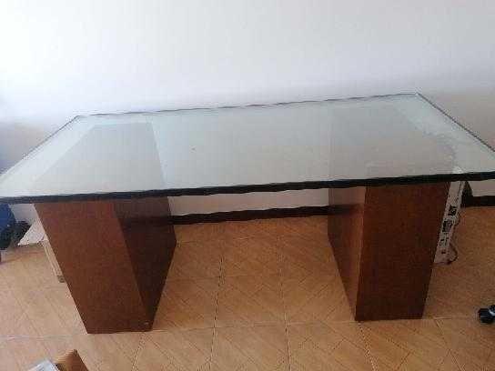Mesa vidro 1. 84/0.90