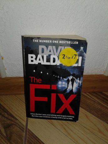 David Baldacci The Fix Книга на англійській мові english