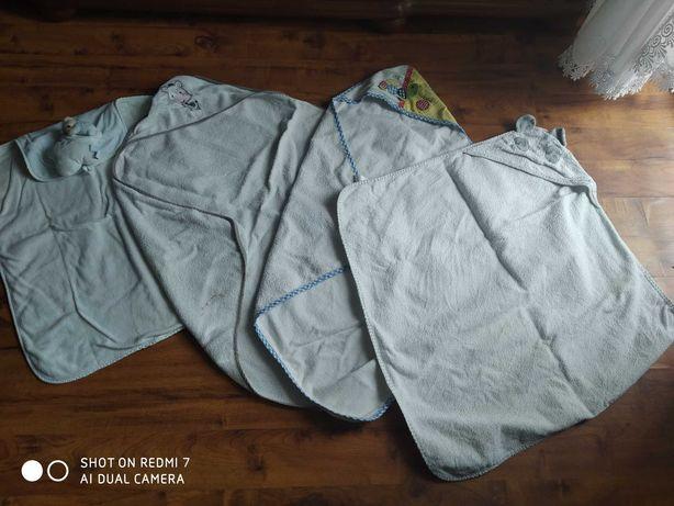 Ręczniki niemowlęce z kapturem