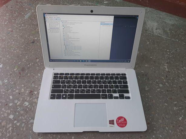Ультрабук Thomson! 4 ядра/SSD64GB/Экран 14/Батарея 7 часов