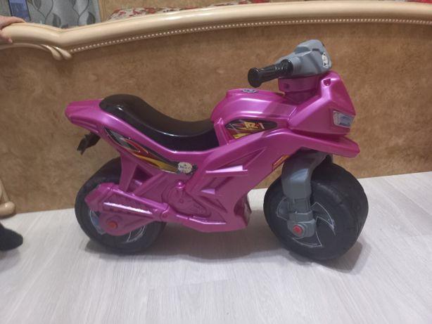 Толокар-мотоцикл , беговел, велобег