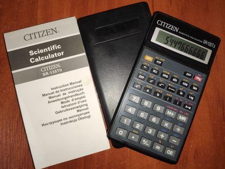 Калькулятор инженерный, научный Citizen SR-135T II