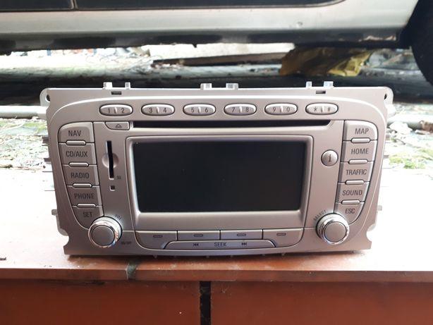 Radio ford z nawigacja fabryczne z kodem
