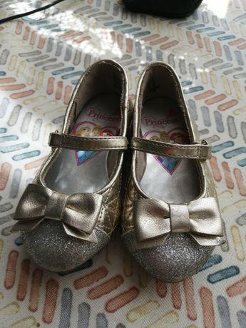 Туфельки Дисней золотые