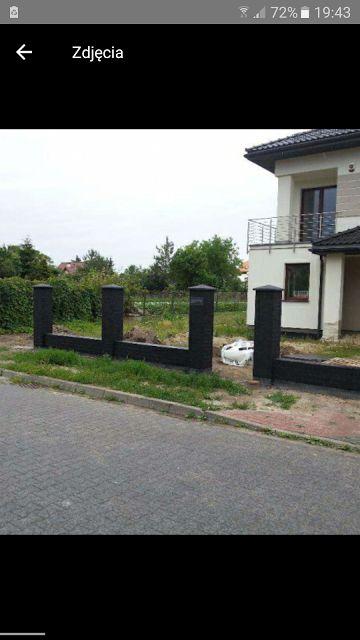 Ogrodzenie z klinkieru. Warszawa - image 1