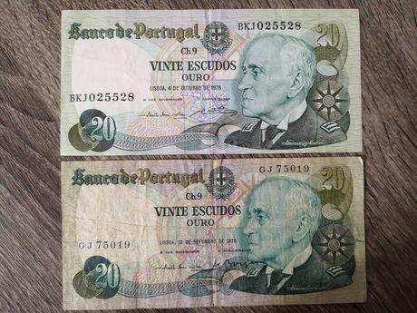 Nota de 20 escudos 1978