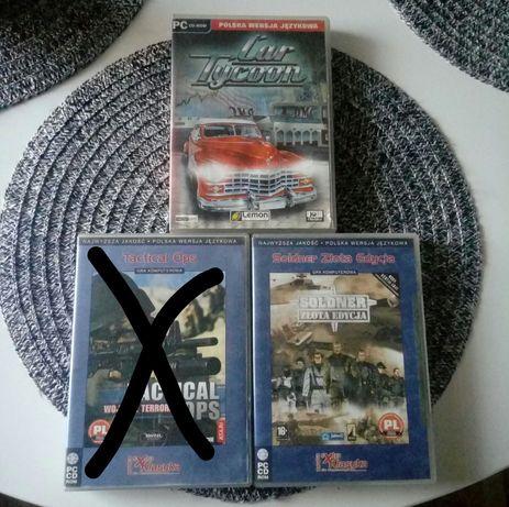 Komplet 2 gier PC Soldner + Car Tycoon