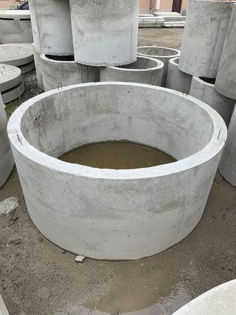 Армовані бетонні кільця для каназізації Ø2 м. ДОСТАВКА МОНТАЖ
