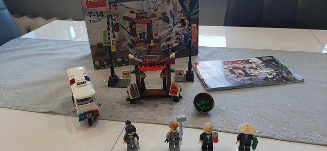 Lego 70607 oryginalny, kompletny, pudełko i instrukcja