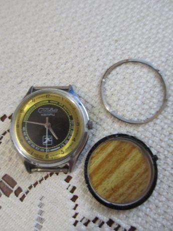 Часы Слава спортивная модель калибр 3056 ссср.