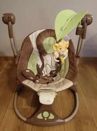 Bright Starts Huśtawka Hybrydowa Król Lew/bujak/leżaczek dla dziecka