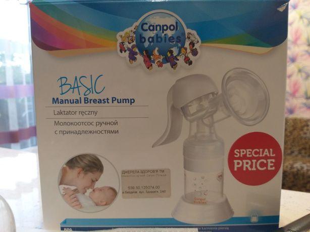 Молокоотсос Canpol babies ручной