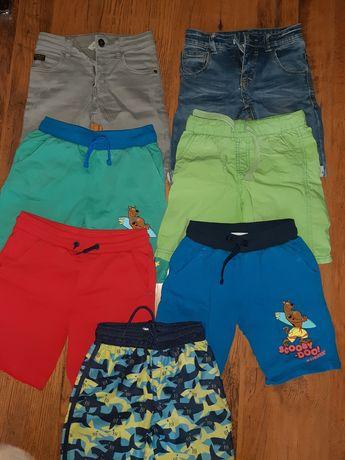 Spodnie, krótkie spodenki 116