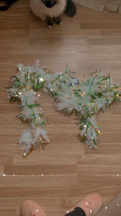 Боа карнавальне біле Боярка - изображение 1