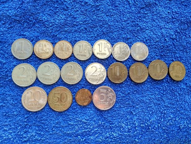 Монеты коллекция 19шт(цена за все).