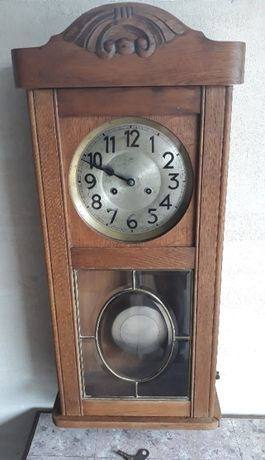 Zabytkowy zegar wiszący Junghans A32 sprawny