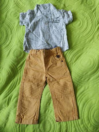 Spodnie, koszula, niemowlęce