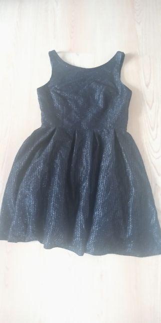 Sukienka czarna damska