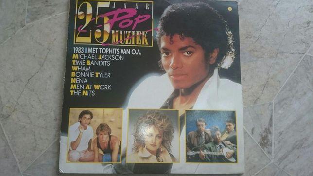 Plyta x2 winelowa 25 pop muziek
