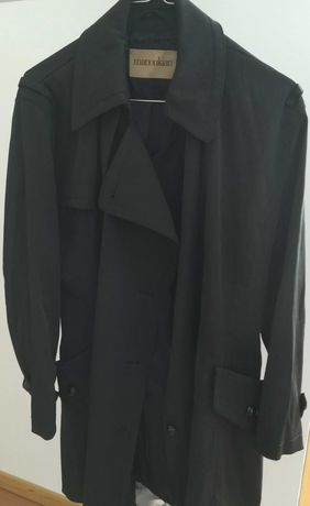 Gabardine Trench coat Alain Manoukian Original serve a L ou XL