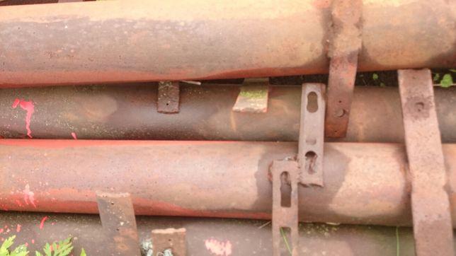 Труба стальная толстостенная,столбики для ограды