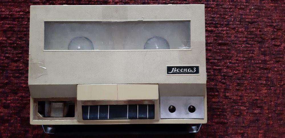 Магнитофон бобинный переносной ВЕСНА-3. Запорожье - изображение 1