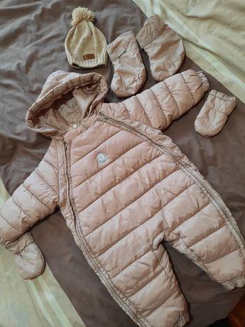 Зимнии детский комбинезон