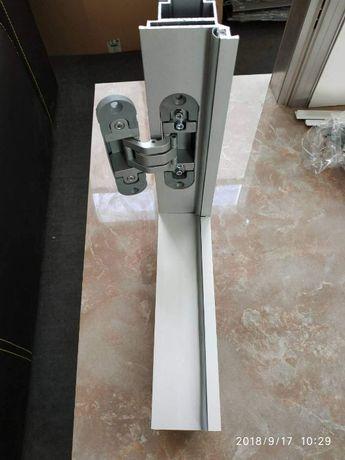 Профиль дверной коробки 7946 алюминиевый (двери скрытого монтажа)